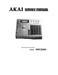 Service Manual Akai MPC2000