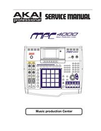 Service Manual Akai MPC 4000