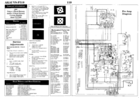 Service Manual Akai VS-F510
