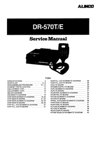 Manual de servicio Alinco DR-570T