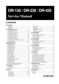 Service Manual Alinco DR-435