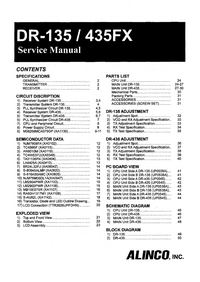 Service Manual Alinco 435FX