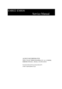 Manual de servicio Alinco EMS56