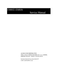 manuel de réparation Alinco EMS56