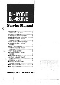 Manual de servicio Alinco DJ-160T
