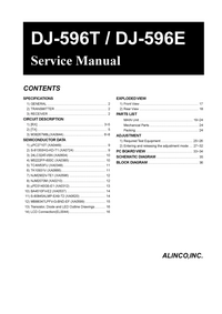 Manual de servicio Alinco DJ-596E