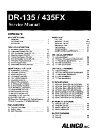 Manual de servicio Alinco DR-435FX
