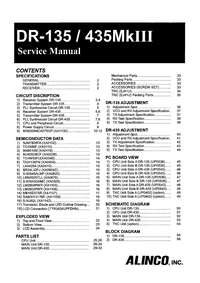 Manual de servicio Alinco DR-435MKIII