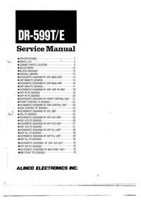 Service Manual Alinco DR-599T