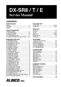 Service Manual Alinco DX-SR8