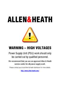 Manuale di servizio Allen Saber Plus