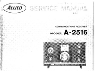 Serwis i User Manual AlliedRadio A-2516