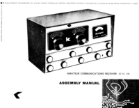 Servicio y Manual del usuario AlliedRadio 83 YU 726