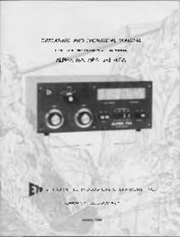 Service et Manuel de l'utilisateur Alpha Alpha 76CA