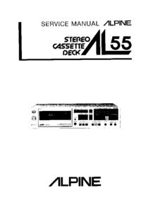 Servicehandboek Alpine AL55