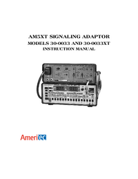 Manual del usuario Ameritec AM5XT 30-0033