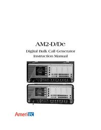 Gebruikershandleiding Ameritec AM2-D