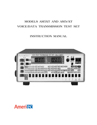 Manual del usuario Ameritec AM5XT