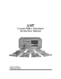 Manual del usuario Ameritec AM7