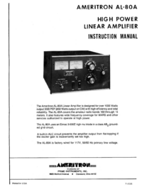 Ameritron-5890-Manual-Page-1-Picture