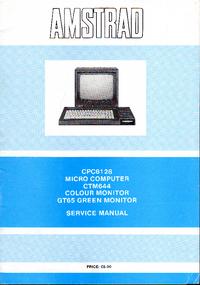 Manual de serviço Amstrad CPC6128