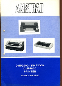 Servicehandboek Amstrad DMP3000