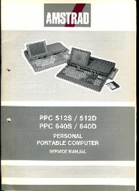Manual de servicio Amstrad PPC 640S