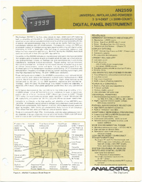 Datasheet Analogic AN2559