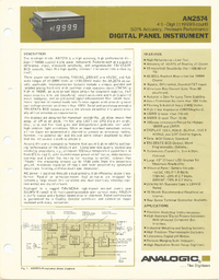 Datasheet Analogic AN2574