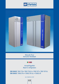 User Manual Angelantoni EKO BASIC 700/1 BT