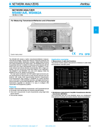 Anritsu-5911-Manual-Page-1-Picture