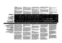 Instrukcja serwisowa Aphex Aphex II