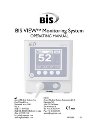 User Manual Aspect BIS VIEW