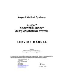 Instrukcja serwisowa Aspect A-2000