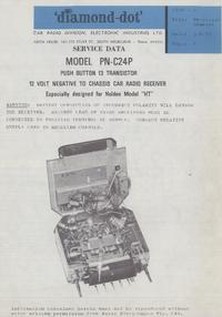 Manuale di servizio Astor PN-C24P