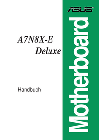 User Manual Asus A7N8X-E Deluxe