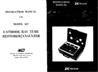 Service and User Manual BKPrecision 467