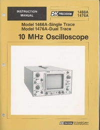 BKPrecision-605-Manual-Page-1-Picture