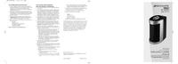 Manual del usuario Bionaire BAP1412