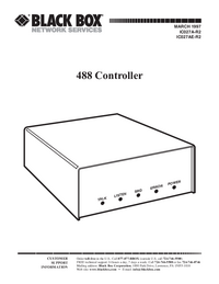 User Manual Black_Box 488 Controller