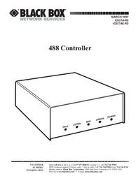 Руководство пользователя Black_Box 488 Controller