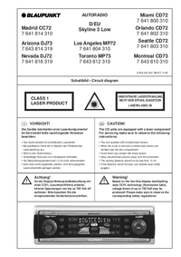 Cirquit Diagram Blaupunkt Los Angeles MP72
