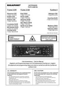 Manual de servicio Blaupunkt Alicante CD32