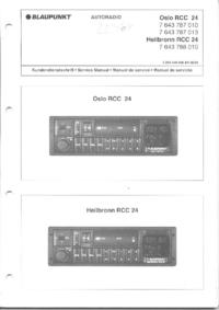 Service Manual Blaupunkt Heilbronn RCC 24