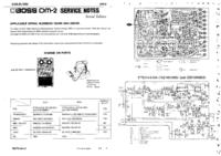 manuel de réparation Boss DM-2