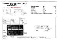 Service Manual Boss BE-5B