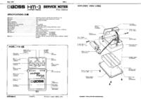 Service Manual Boss HM-3