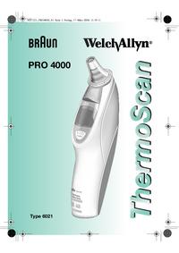 Manual de servicio Braun Pro 4000