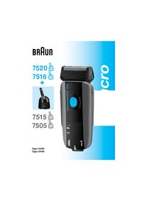 User Manual Braun Syncro 7520