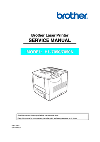 Service Manual Brother HL-7050